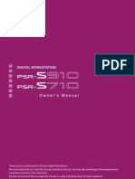 PSR s910-710 Manual Usuario (English)