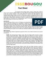 Ouelessebougou Fact Sheet
