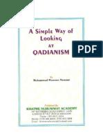 Simple Way of Looking at Qad