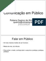 Comunicação em Público