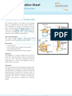 Thoracic Spine Joint Dysfunction