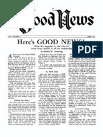 Good News 1951 (Vol I No 01) Apr_w
