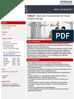 Replication Fundamentals for Hitachi Modular Storage