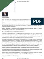 Paz, cálmense - Liahona Marzo 2013