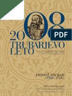 2008 The Year of Primož Trubar