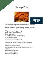 Rahasia Resep Fried Chiken.docx