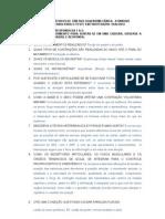 Respostas Teste de Conhecimentos de Cinesiologia II Unidade