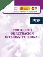 Protocolo de Actuación con Resolución MP