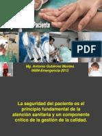 UIGV AGM Seguridad Del Paciente 050413