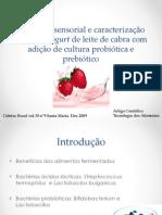 Aceitação sensorial e caracterização de frozen yogurt de