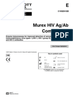 3 Murex HIV Ag Ab Combination
