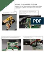 4051 Ic-7000 Mic Modification English-spanish
