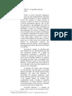 CAPÍTULO 5 - APARELHO FORMAL DE ENUNCIAÇÃO - BENVENISTE