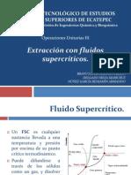 Extracción con fluidos supercríticos