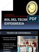 TECNICO DE ENFERMERIA