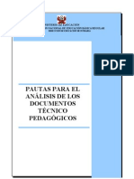 Pautas de Analisis de DocumentosTP