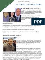 Deepak Buat Surat Terbuka Untuk Dr Mahathir