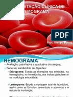 3. INTERPRETAÇÃO CLÍNICA DE HEMOGRAMA
