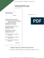 Jill Kelley Complaint v. FBI et al