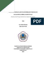 44203651 Proposal Peranan Sistem Informasi Akuntansi Dalam Pengambilan Keputusan