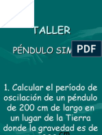 Péndulo Taller