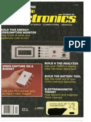 RE - 1991-12 pdf | Microprocessor | Laser