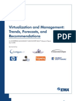 DORA EMA Virtualization Trands Forecasts Recommendations