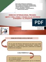 Expo de Derecho Inter Privado