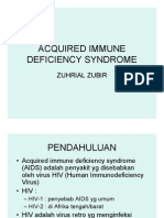 slide Acquired Immune Deficiency Syndrome