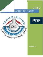 4to Organizacion de Datos UNIDAD V
