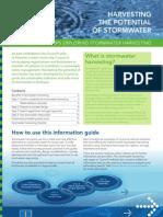 Storm Water Harvesting Guideline