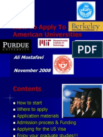 How to Apply to American Universities