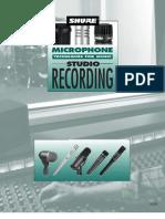 Audio - Shure Microphone Techniques for Music Studio Recording