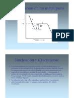 Nucleacion y Crecimiento