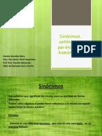 Sinonimos Antonimos, Paronimos y Homonimos