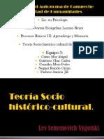 Aprendizaje Socio Historico Cultural