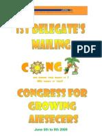 1st Delegates Mailing _conga Guatemala 09