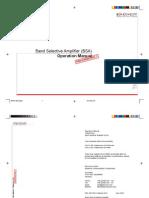 BSA Manual