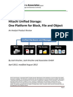 Analyst Report Krisher Hus One Platform for Block File and Content