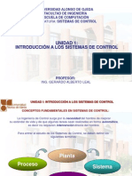 Unidad 1 Introduccic3b3n a Los Sistemas de Control