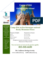 Summer Camp French