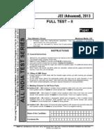 Paper Aits 2013 Ft II Jeeadvanced Paper 1