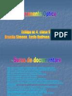 Instrumente Optice