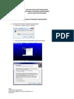 INSTALASI DAN CARA PENGGUNAAN Aplikasi Fingerprint Attendance Management