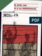 Europa Del Este Del Estalinismo a La Democracia