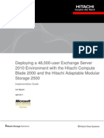 Deploying 48000 User Exchange Server 2010 Environment Implementation Guide