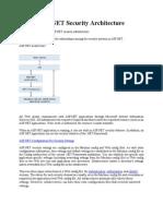 ASP.net Security Architecture