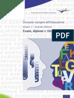 Glossario Europeo Dell'Educazione