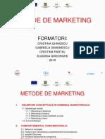 Metode de Marketing-suport de Curs HORECA-Revizuit Pe 26 Apr2010
