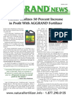 Corn, Soybean, and Hay farm increase profits with AGGRAND